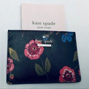 NWT Kate Spade Leather Cameron St. card holder